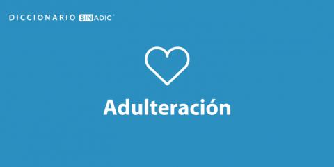 Simbolo Adulterio