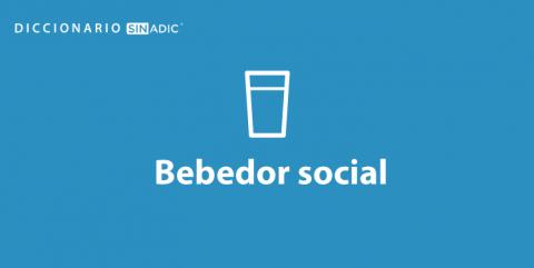 Simbolo Bebedor Social