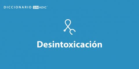 Simbolo Desintoxicación