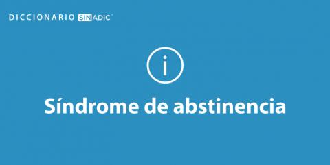Simbolo Síndrome de Abstinencia
